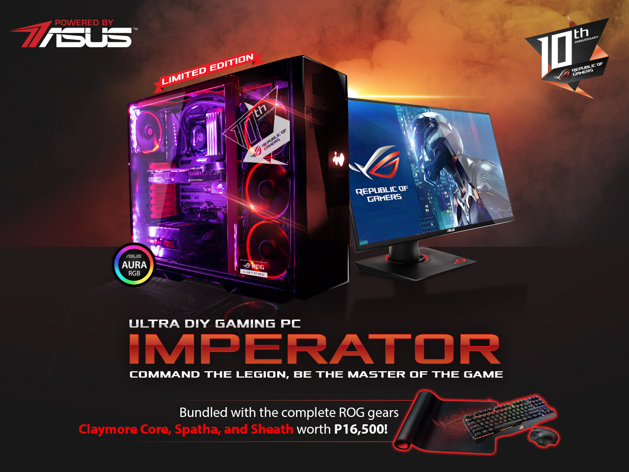 ASUS ROG Imperator Ultra Gaming DIY PC