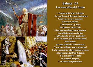 Resultado de imagen para Salmo 114