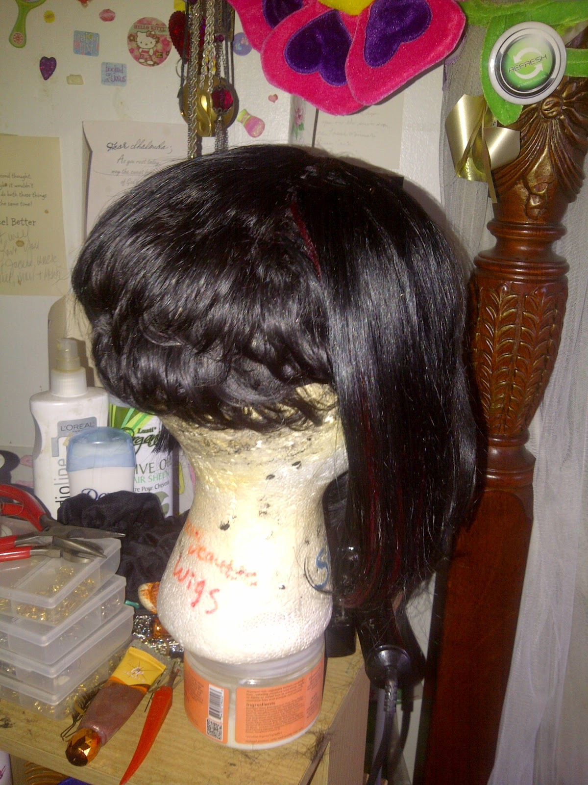 Superb Shaybeautie Quick Weave Wig Bob With 27 Piece Hair Hairstyle Inspiration Daily Dogsangcom