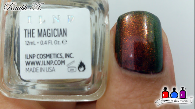 Avon Mark Preto Carbono, Esmaltes Avon, Vinho Fashion, BP-L005, ILNP The Magician,