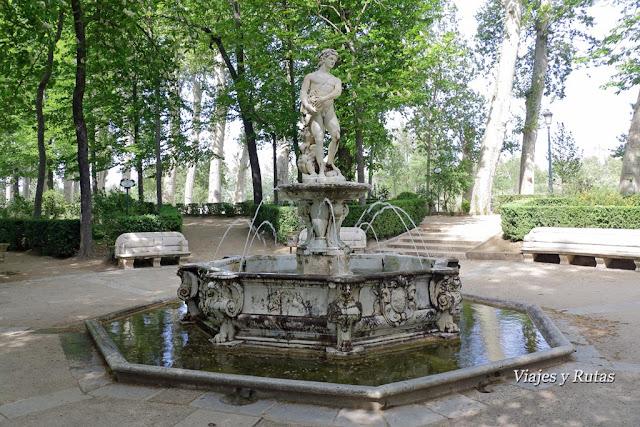 Fuente de Apolo, Jardín de la Isla, Aranjuez