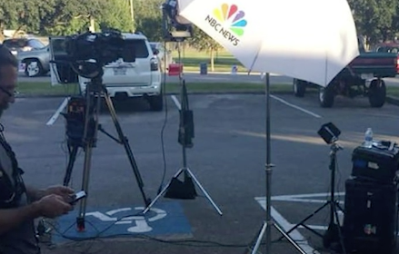 Disabled veteran knocks MSNBC crew for blocking handicapped spots at polling site
