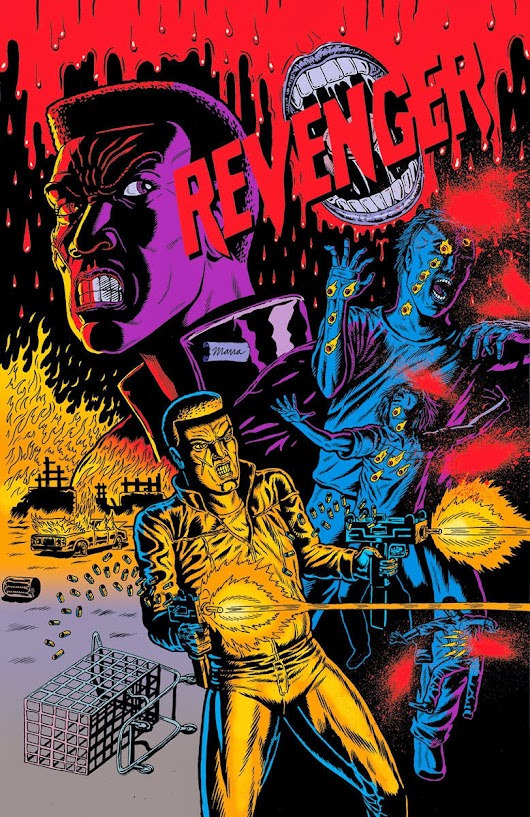 REVENGER Back Cover