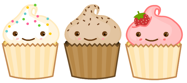 Chip Chip Cupcakes