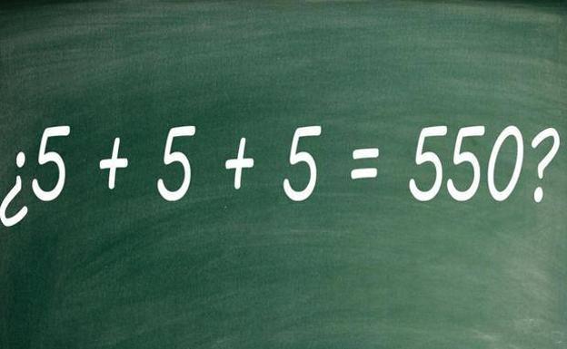 ¿Sabrías resolver este acertijo matemático viral?