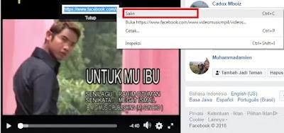 cara download video facebook tanpa software Cara download video facebook tanpa software
