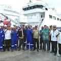 KN Yesfus Bawa Fasilitas  Sandar Pertamina ke Pelabuhan Donggala