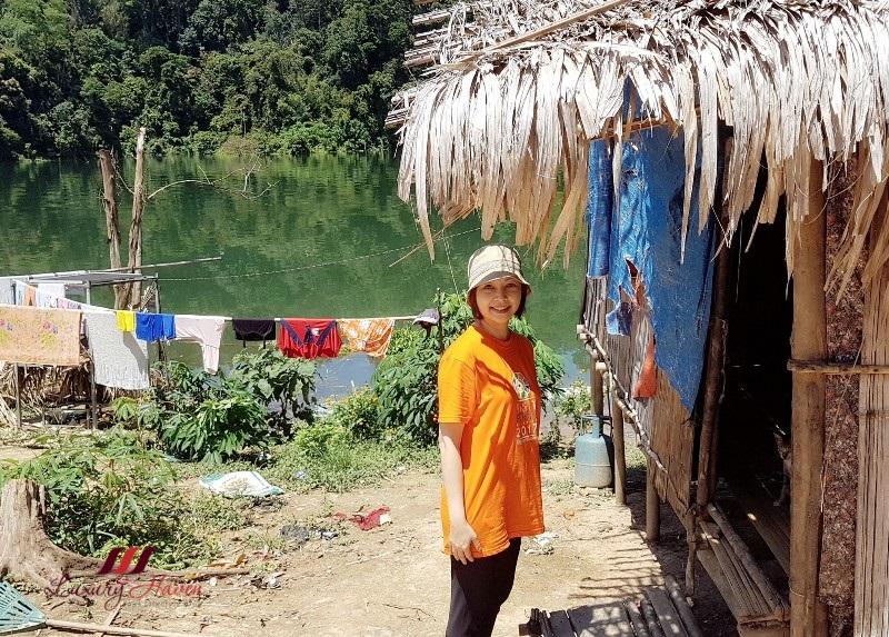 travel blogger orang asli adventure kampong aman damai