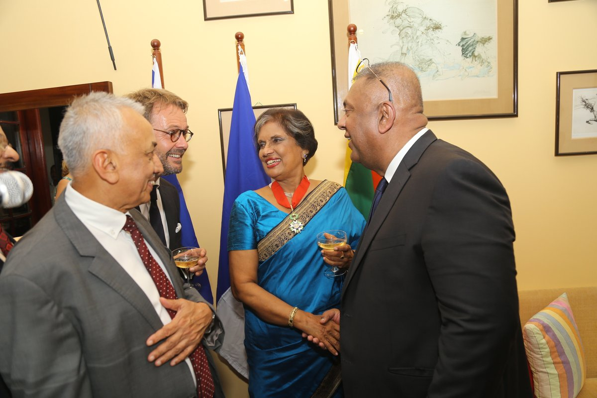 CBK, first Sri Lankan to receive France's Highest National Order