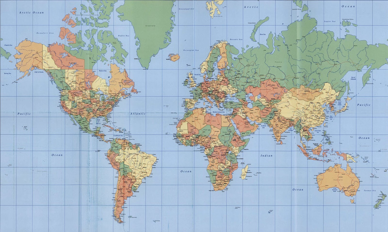 Koleksi Gambar Sketsa Peta Dunia Terbaru Repptu