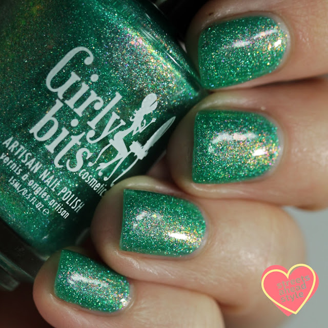 Girly Bits Lord of the Spring swatch by Streets Ahead Style