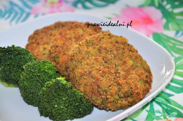 kotlety brokułowo- jaglane
