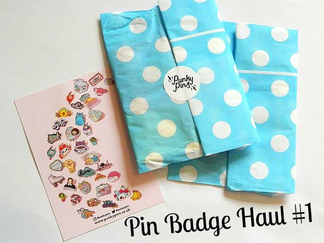 Pin Badge Haul