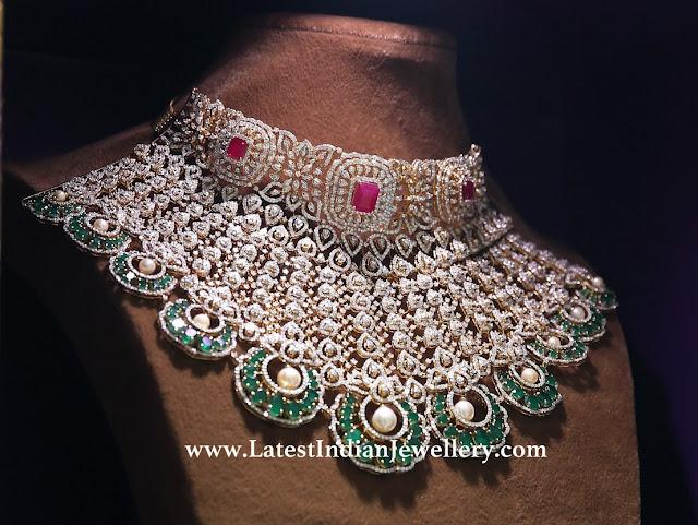 Manjula Jewels Bridal Necklace
