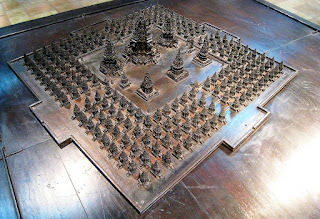 Original Layout of Prambanan Temple
