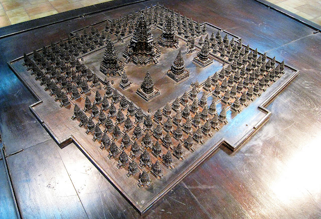 Original Layout of Prambanan Temple