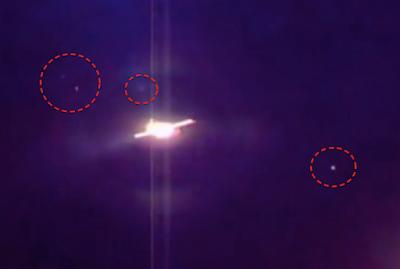 UFO é visto