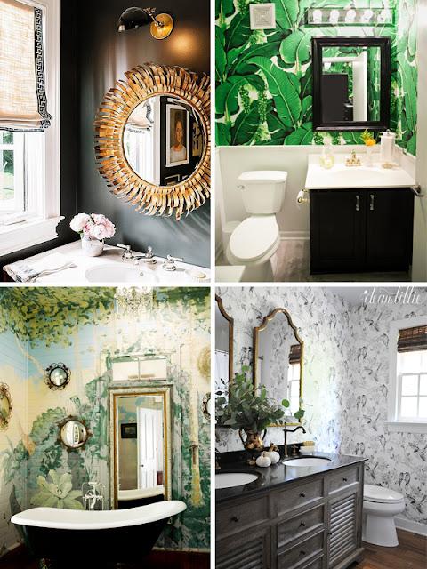 Fürdők markáns,karakteres színekkel