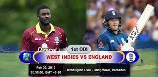 Eng vs WI 1st ODI
