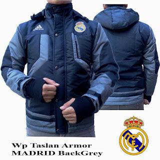 Jaket Waterproof Real Madrid