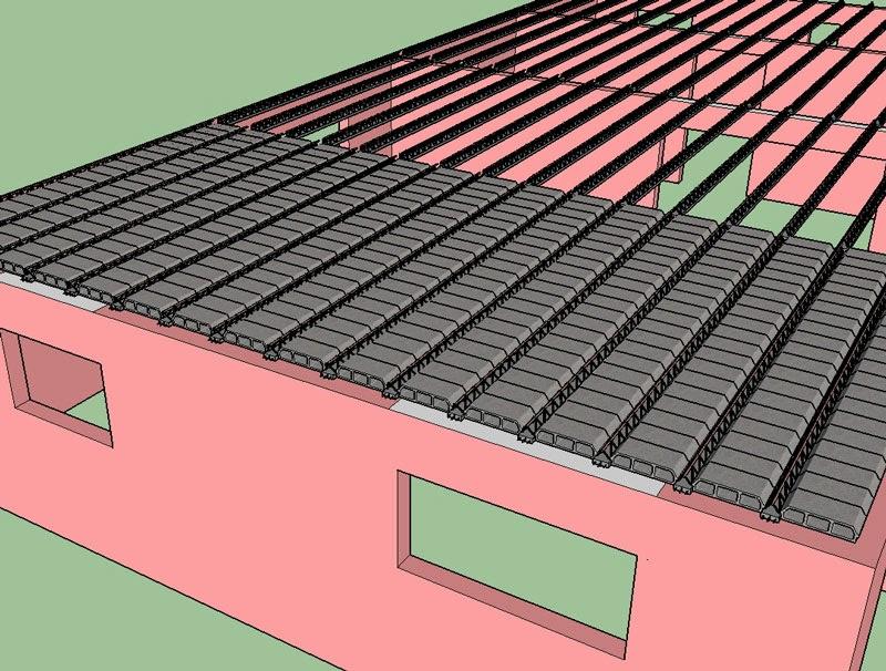 projet de construction d 39 une dalle en b ton b tir sa maison moindre co t. Black Bedroom Furniture Sets. Home Design Ideas