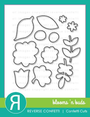 blooms 'n buds confetti cuts
