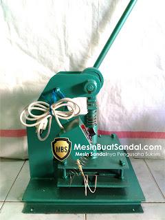 Mesin Embos Sandal, Mesin Hand Pres Sandal, Mesin Buat Sandal, Mesin Pon Sandal Manual