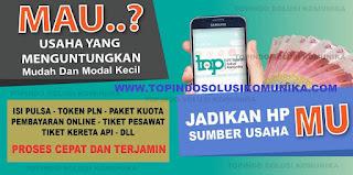 Distributor Pulsa Elektrik Semua Operator Kalimantan Barat