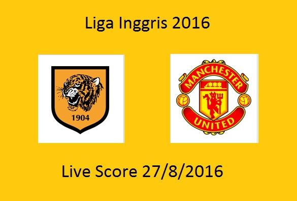 LIVE SCORE Hasil Manchester United VS Hull City SKOR Akhir 1-0 FT : Liga Inggris 2016 Tadi Malam
