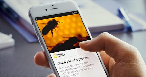 圖說:Facebook Instant Article手機介面,外媒翻拍