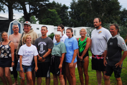 Hamlin Lake Preservation Society 2011 swimmers
