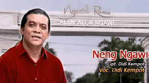 Lirik Lagu Neng Ngawi - Didi Kempot