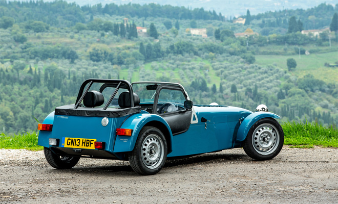 Caterham Seven 160 rear view