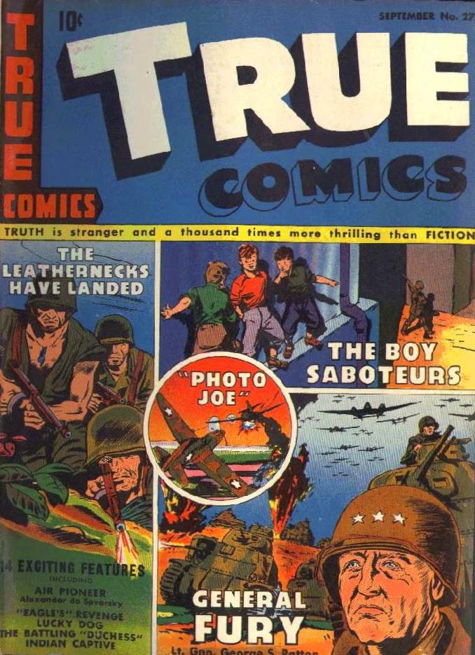 The Children's War: Sunday Funnies #21: The Boy Saboteurs