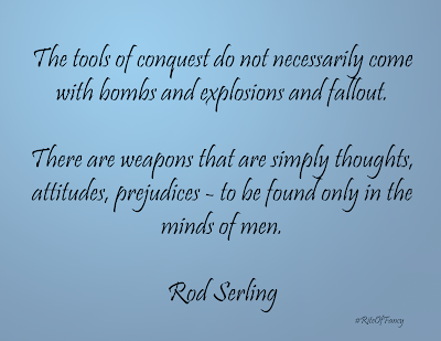 A short summary and review of the book Stories from the Twilight Zone by Rod Serling with a quote and questions to ponder.