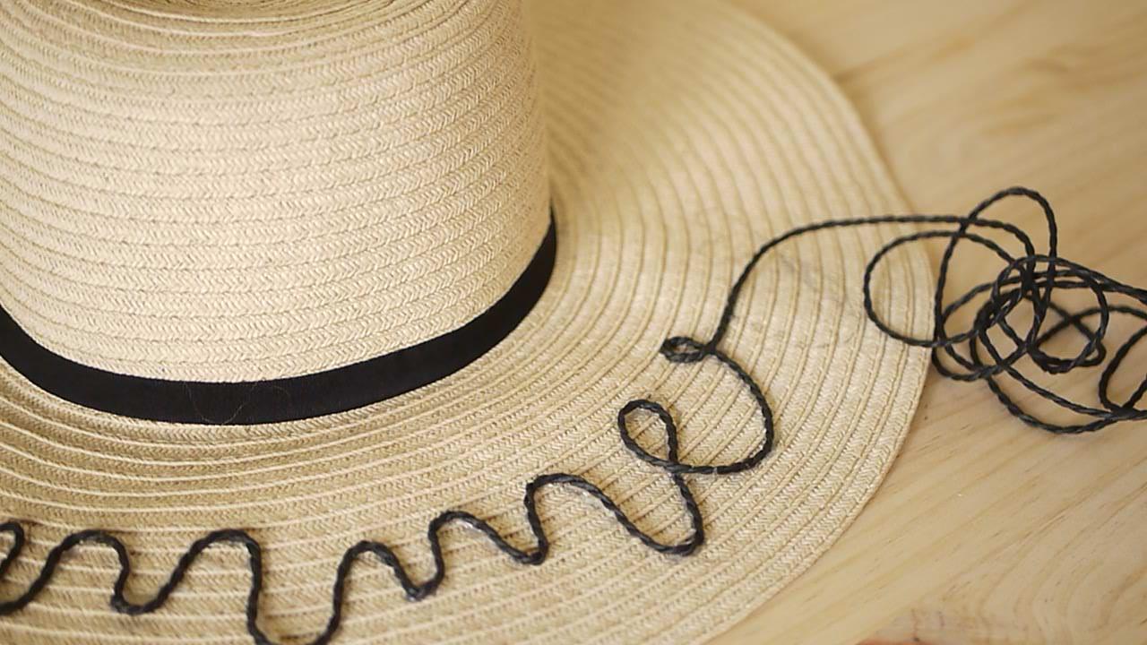 Diy Ideas Para El Verano Sombrero Con Frase Sandalias