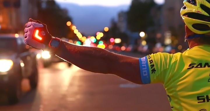 Rękawiczki z LED