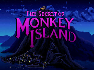 Pantallazo inicio The Secret of Monkey Island