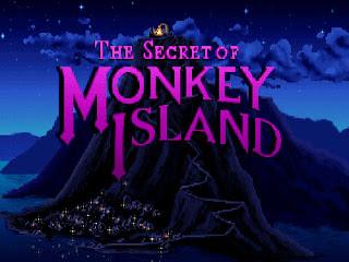 Pantallazo inicio The Secret of Monkey Island
