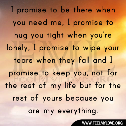 Promising Love Quotes: I Promise To Love You Quotes. QuotesGram