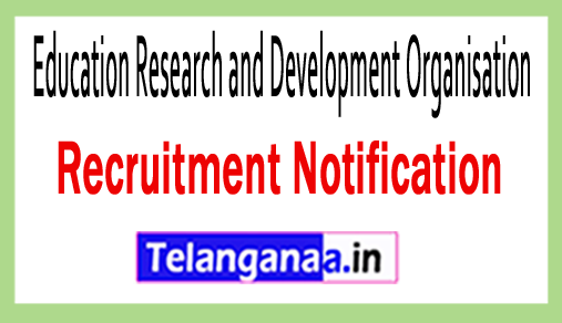 Education Research and Development Organisation ERDO Recruitment