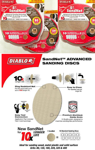 sanding discs and the advantages of using sandnet sanding discs