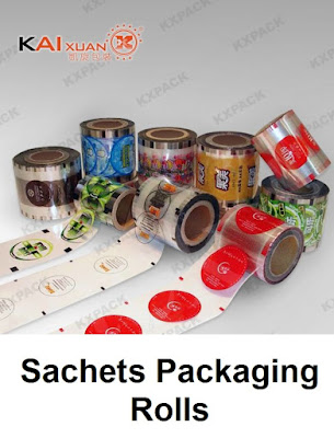 Sachets Packaging Rolls