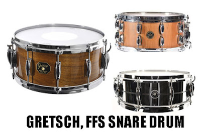 Review GRETSCH, FFS SNARE DRUM