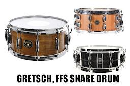 Review GRETSCH, FFS SNARE DRUM
