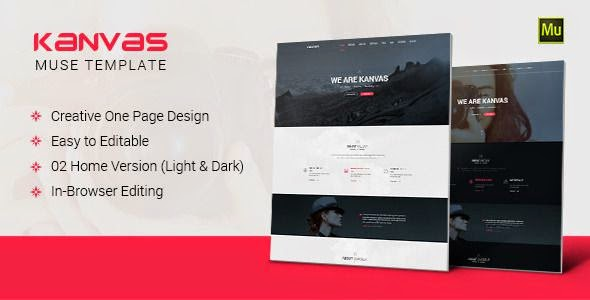 Best Multipurpose Parallax Muse Template