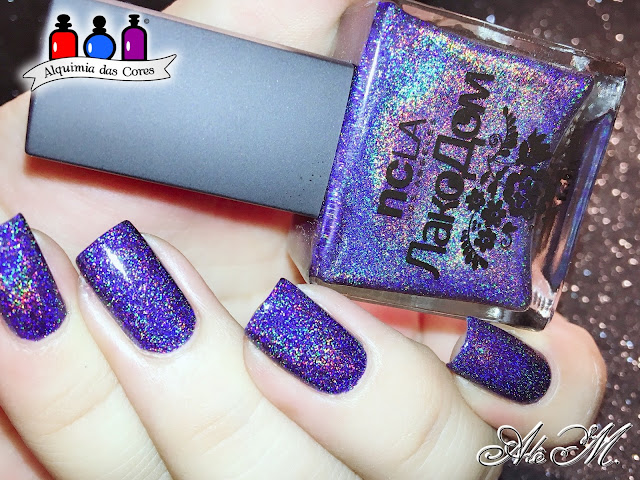 NCLA, Volga, Azul Escuro, Lakodom From Russia With Love Collection, Alquimia das Cores, Alê M 2018