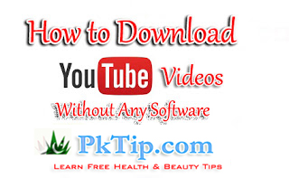How to Download YouTube videos without any Software 2019