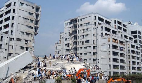 terramoto segurança