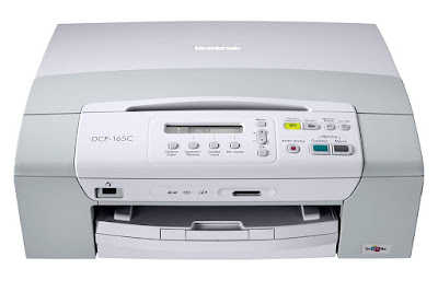 C Compact Colour Inkjet Multifunction Printer Brother DCP-165C Driver Downloads